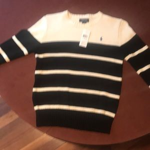 Boys polo sweater with tags